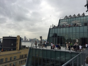 Roof of the Whitney