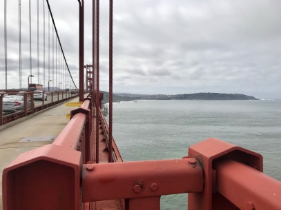 From the north end of the Golden Gate